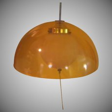 Swinger Mod Plexiglass Light Fixture -