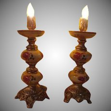 Flickering Flame Boudoir Lamps - b228