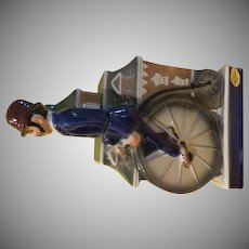 Penny Farthing High Wheel Bike/rider 1972 Ezra Brooks S.N. 37 Decanter - b228