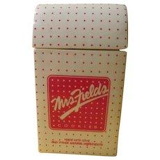 Mrs Fields Cookies - Cookie Jar