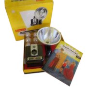 Smile for the Brownie Hawkeye Flash Camera in Box - b224