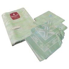 Sparwick Irish Made Tablecloth and Napkins - b249