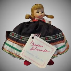 Madam Alexander Poland 8'' Doll in Box - b227