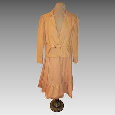 Cinched Waist Suit