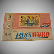 Milton Bradley Volume 3 Password 1963 - b222