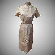Ecru Short Sleeve Dress