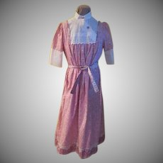 Pretty in Pink House dress
