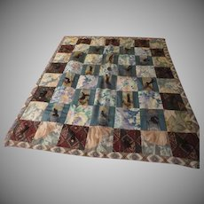 Tied and True Lap/child Quilt - CL