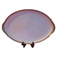 Union Ceramique Limoges France M. F. & Co Large Platter - LBB