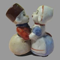 All in One Dutch Couple Salt and Pepper Shakers - b226