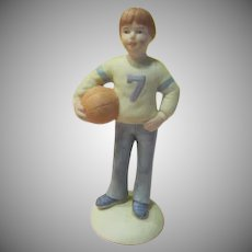 7 Year Enesco Growing Up Boy Figure - B226