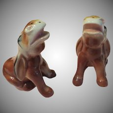 Hew Haw Braying Donkey Salt and Pepper Shakers - b226