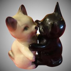 Black Cat, White Cat Salt and Pepper Shakers - JSP