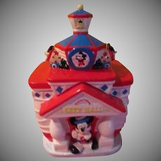 Mickey Mouse Toon Town City Hall Cookie Jar