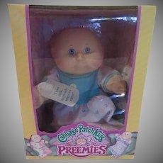 Murray Claude Hasbro Cabbage Patch Kids Preemie in Box