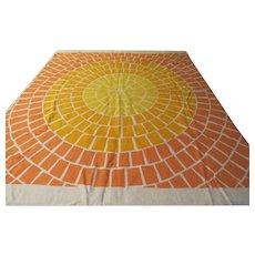 Sunny Shades of Yellow Tablecloth - b230