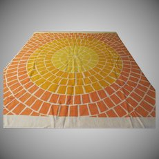 Sunny Shades of Yellow Tablecloth - b230