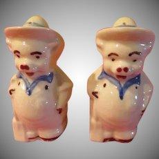 Shawnee Farmer Pig Salt and Pepper Shakers - JSP