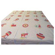 Siesta Time Tablecloth - b230