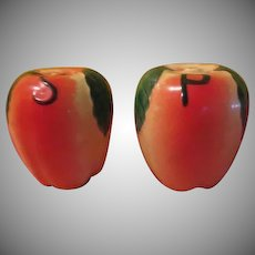 Tasty Hull Apple Salt and Pepper Shakers - JSP