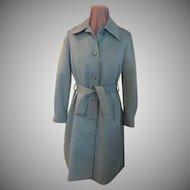 Sage Green London Fog Raincoat