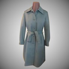Sage Green London Fog Raincoat