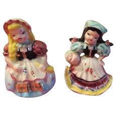 Swiss and Italian Salt and Pepper Shakers - JSP