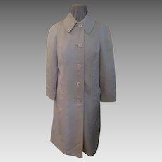 Fleshy Pink London Fog Raincoat