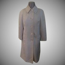 Fleshy Pink London Fog Raincoat
