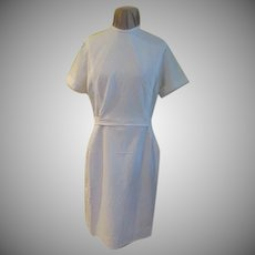 White 60's Nurse's Uniform