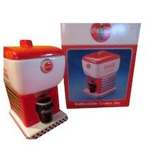 Ice Cold Coke Cola Soda Fountain Cookie Jar