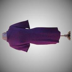 Purple Tweed Mad men Career Dress