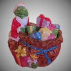 Grinch Who Stole Christmas Cookie Jar