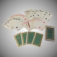 Brown and Bigelow Advertising Playing Cards for Jones & Baumrucker Jewel with Swastika Design - b232