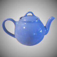 Tea time Blue Lipton Teapot - b233
