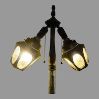 Black To Clear Cut Screw in Lantern Lights - b233
