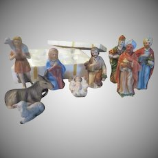 9 Piece Nativity Set - b233