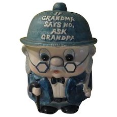Enesco Grandpa Cookie Jar