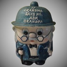 Enesco Grandpa Cookie Jar