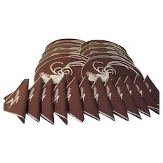 Rooster in the Round Placemats with Napkins - b234