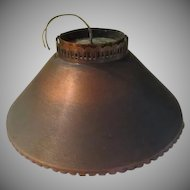 Burnished Copper Ceiling Fixture