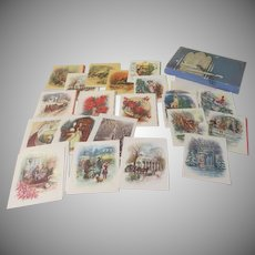 Christmas Blessings Cards in Box - b234