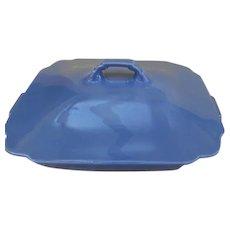Homer Laughlin Harlequin Mauve (Blue) Covered Veggie Bowl - b236