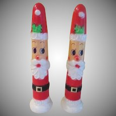 Empire Plastic Slender Illuminated  Santas - B237