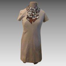 Poet's bow Mini-dress/skimmer