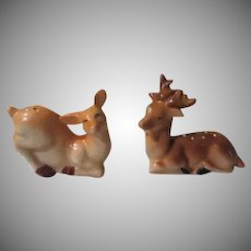 Doe and Buck Salt and Pepper Shakers - b237