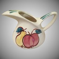 Purinton Apple and Pear Pitcher - b241