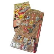 Marx Toys Puppet Pin Ball Game in Box - - b242