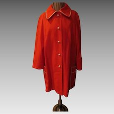Rainy Day Red Raincoat
