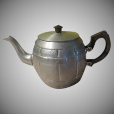 Roll Out the Barrel Sona Ware Aluminum Teapot - b243